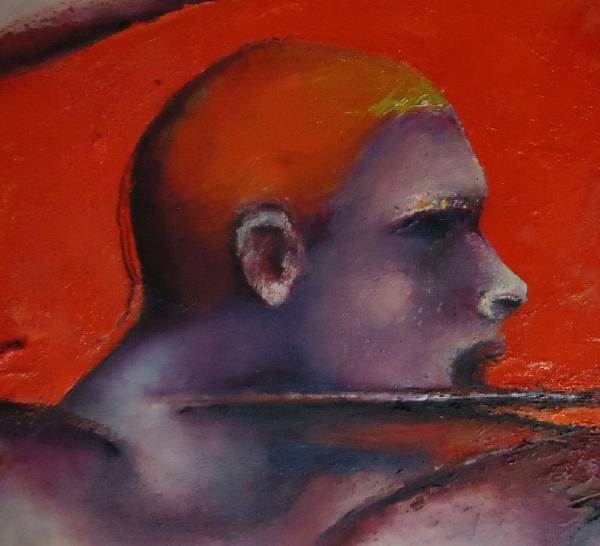 Luc Autoportrait rétrospectif (détail)